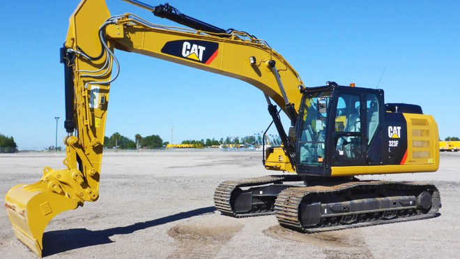 types of excavators