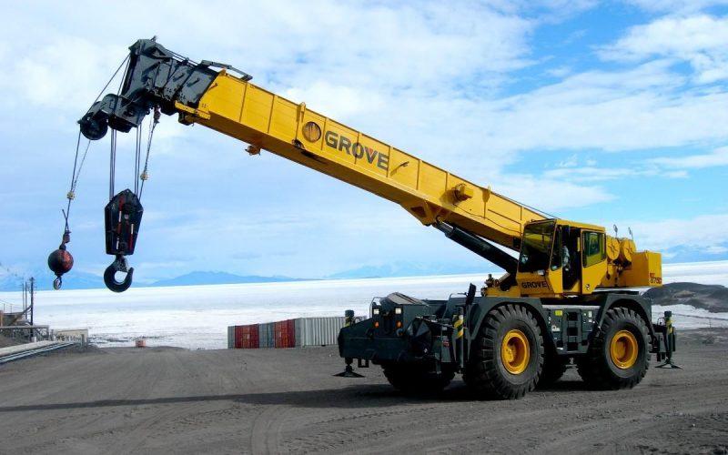 used terrain crane for sale